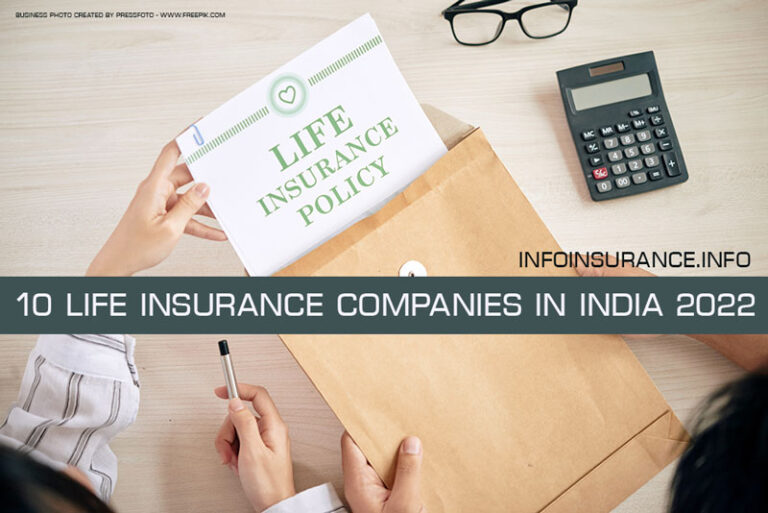 Top 10 Life insurance companies in India 2022